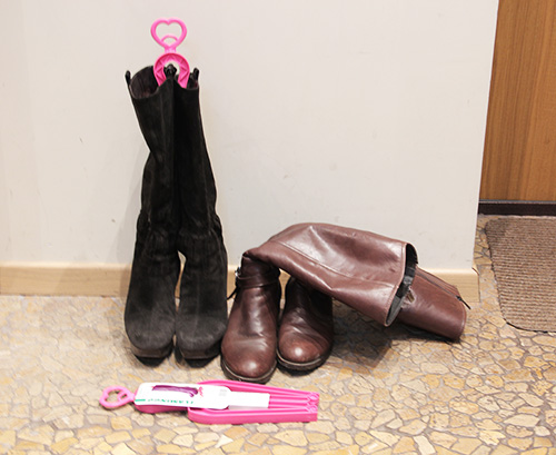 Уход за обувью:формодержатель