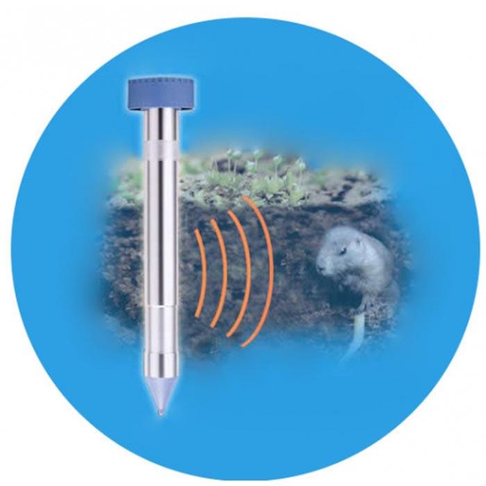 Электронный отпугиватель кротов и прочих земляных вредителей LS-997M